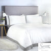 Madison - Easy Care Duvet Cover Set in Grey - by Serene