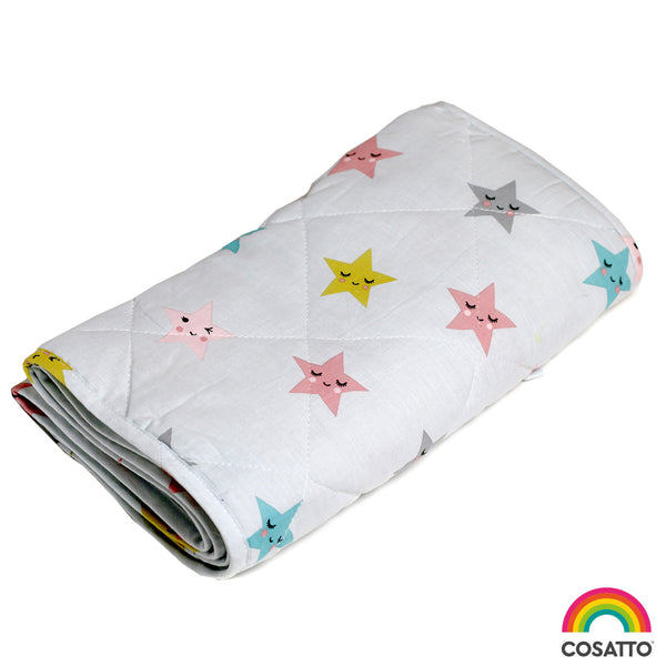 Happy Stars - Cot Bumper - Cosatto