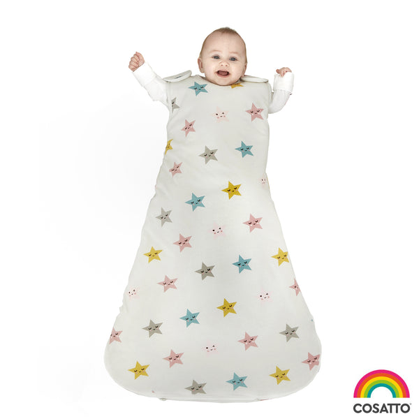Happy Stars - Childs Sleeping Bag - Cosatto