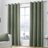 Kilbride Cord - Chenille Eyelet Curtains in Khaki - By Appletree Signature