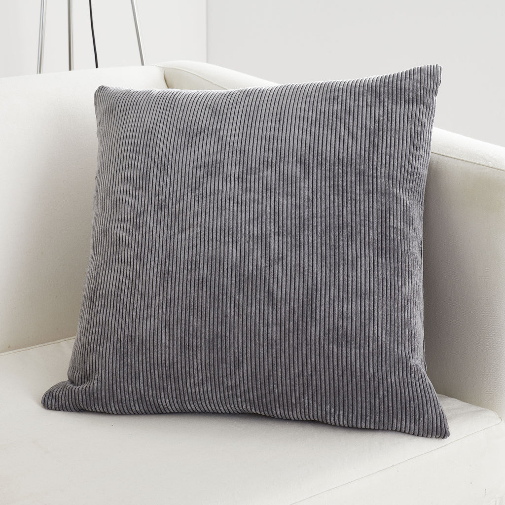 Kilbride Cord - Chenille Filled Square Cushion - by Appletree Signature