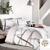 Leda - 100% Cotton Duvet Cover Set in Blush -  by Appletree