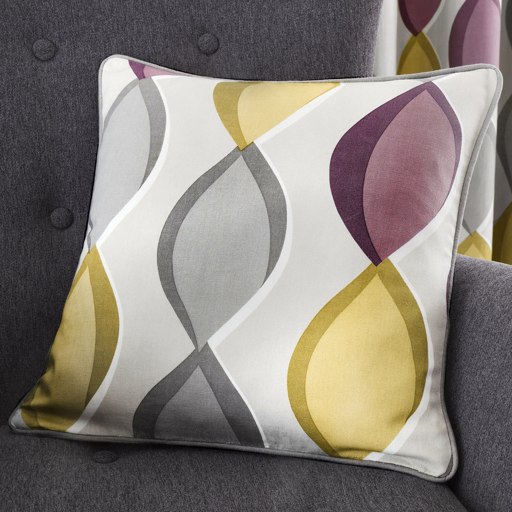 Lennox - Filled Square Cushion - by Fusion