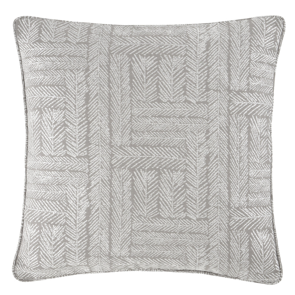 Lowe - Textured stripes Filled Square Cushion - by Curtina