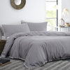 Lynton Slate - 100% Cotton Duvet Cover Set - by Appletree Signature