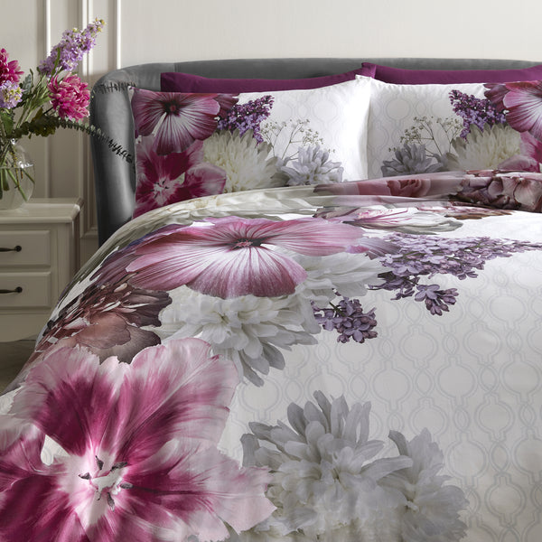 Mayfair Lady - 100% Cotton Duvet Cover Set by Laurence Llewelyn-Bowen