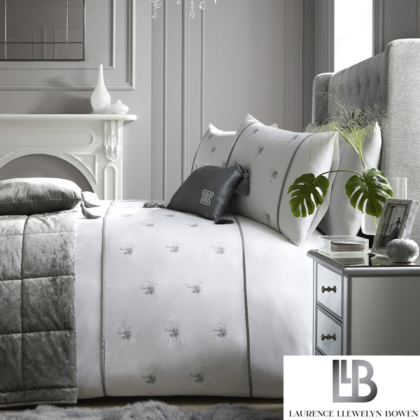 Midnight At The Oasis - Embroidered Duvet Cover Set - by Laurence Llewelyn-Bowen