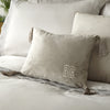 Monoglam - Tassel Corners Filled Cushion - by Laurence Llewelyn-Bowen
