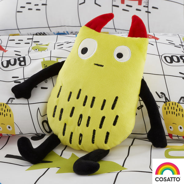 Monster Mob - Cuddly Cushion - Cosatto