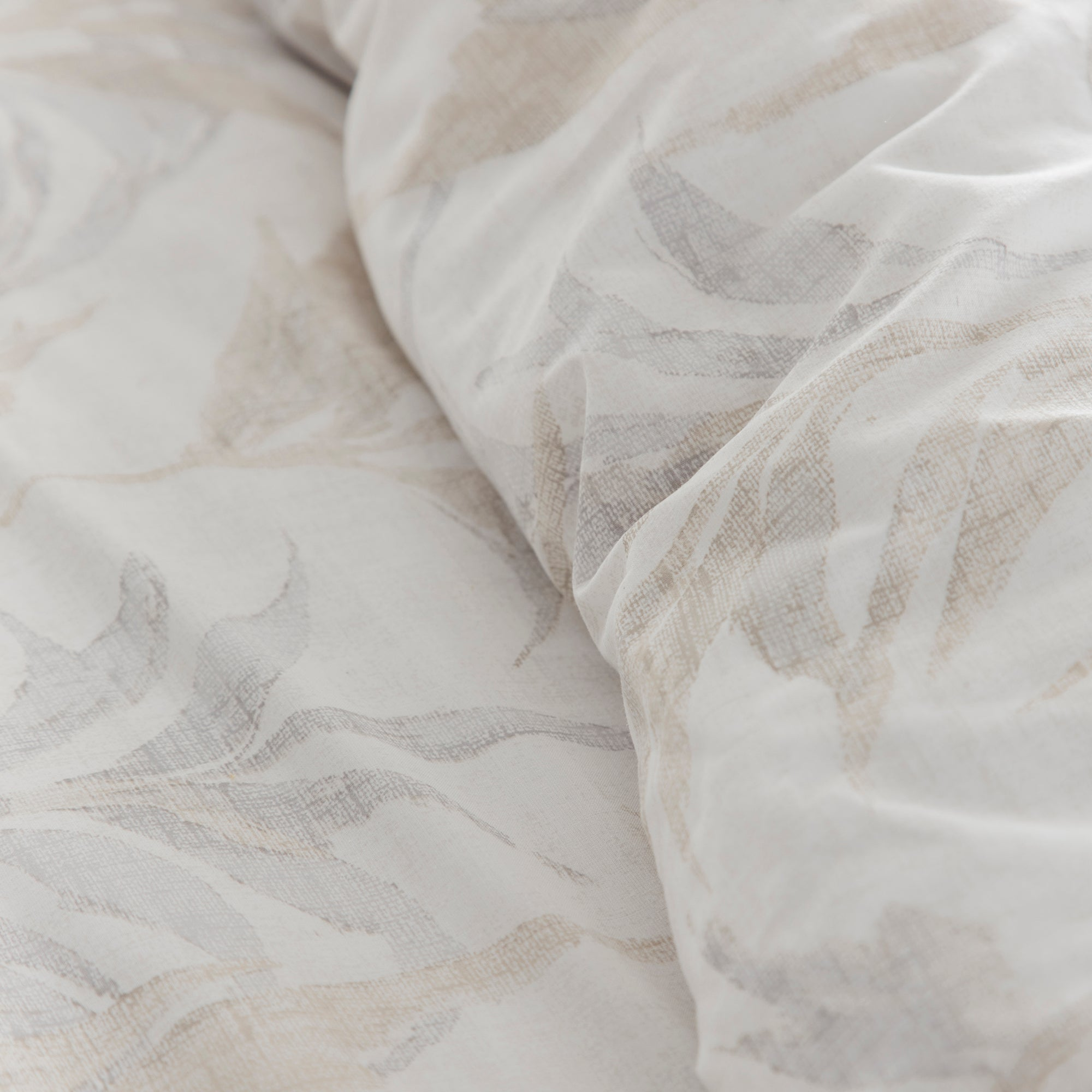 Pampas Grass - Eco-Friendly Duvet Cover Set in Natural by Drift Home