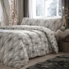 Penguin Silhouette - Brushed Cotton Duvet Cover Set in Grey - By Fusion Christmas