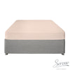 Plain Dye Easy Care Duvet Covers, Fitted Sheets & Pillowcases in Blush - by Serene