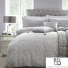 Platinum Roar - Metallic Jacquard Duvet Cover Set - by Laurence Llewelyn-Bowen