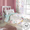 Rainbow Unicorn - Children's Duvet Cover Set, Curtains & Fitted Sheets - by Bedlam