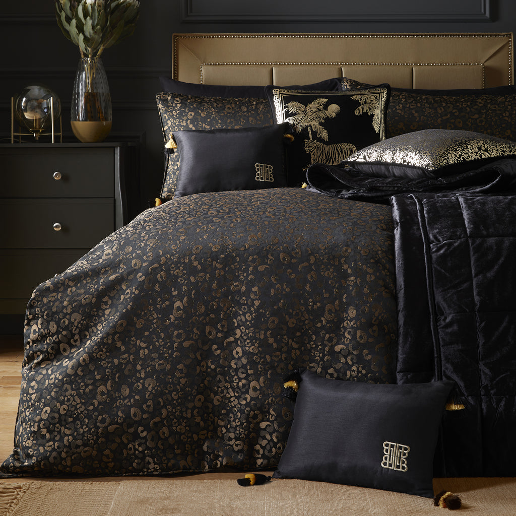 Roar - Jacquard Woven Duvet Cover Set by Laurence Llewelyn-Bowen