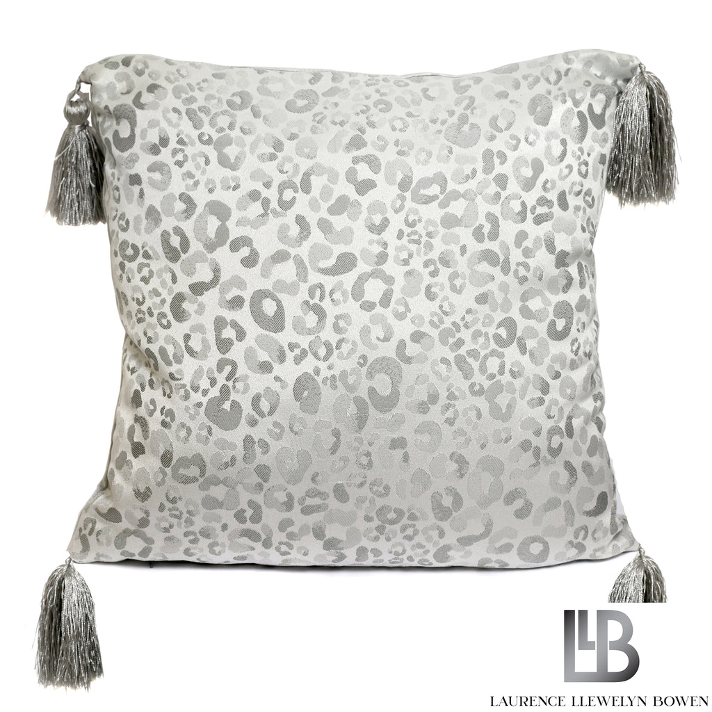Roar - Jacquard Filled Cushion by Laurence Llewelyn-Bowen
