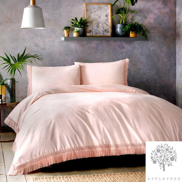Appletree Signature - Tasha 100% Cotton Duvet Cover Set in Pink