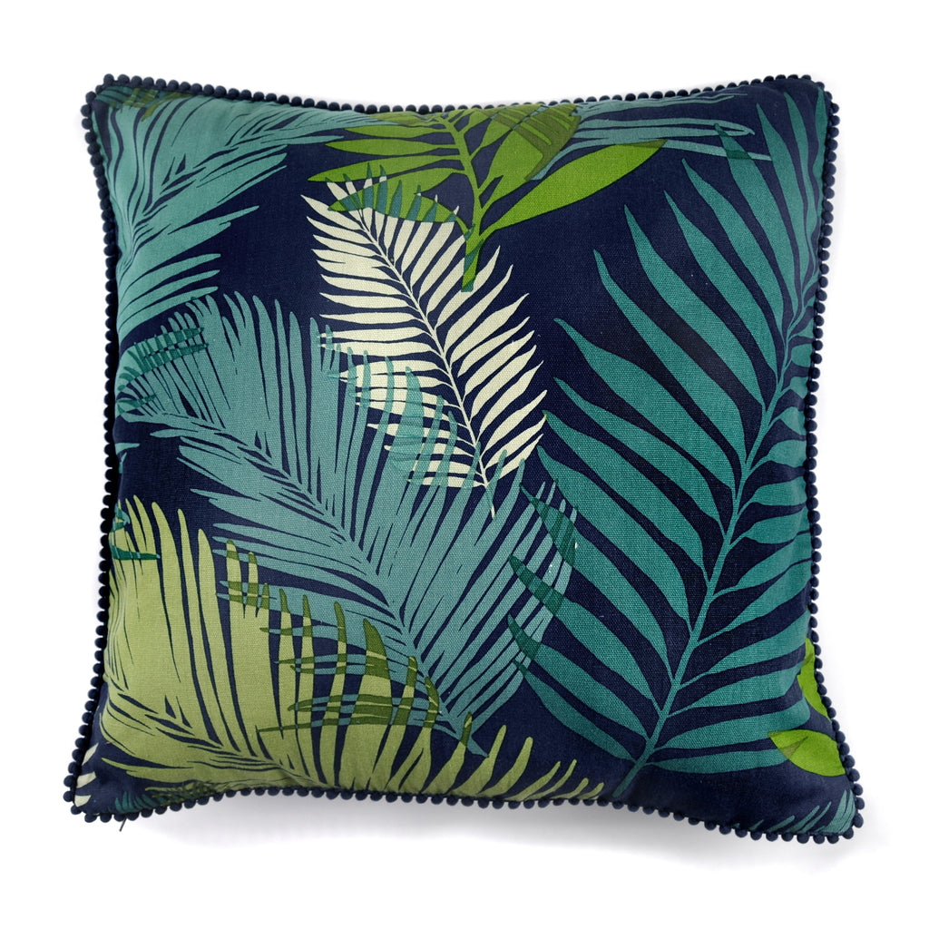 Tropical- Filled Square Cushion - by Fusion