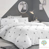 Tufted Star Grey - 100% Cotton Duvet Cover Set by Appletree Kids