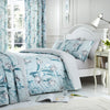 Tulip Duck Egg - Easy Care Bedding & Curtains - by Dreams & Drapes