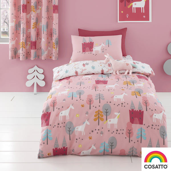 Unicornland - 100% Cotton Duvet Set & Curtains - Cosatto