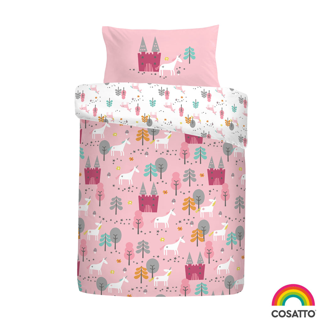 Unicornland - 100% Cotton Duvet Set / Curtains - by Cosatto