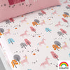 Unicornland - Twin Pack 100% Cotton Fitted Sheets - Cosatto