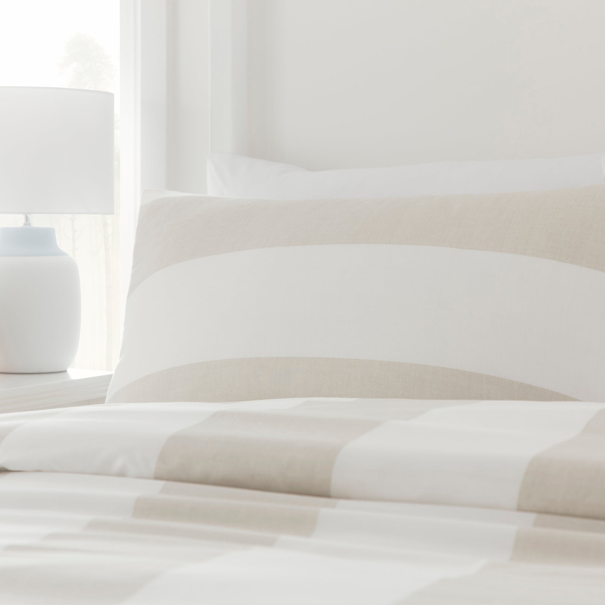 Upton - Eco-Friendly Duvet Cover Set in Natural by Drift Home