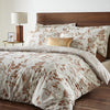 Wentwood - Printed Fern Duvet Cover Set in Natural - by Dreams & Drapes