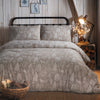 Winter Forest - Brushed Cotton Duvet Cover Set in Linen - By Fusion Christmas