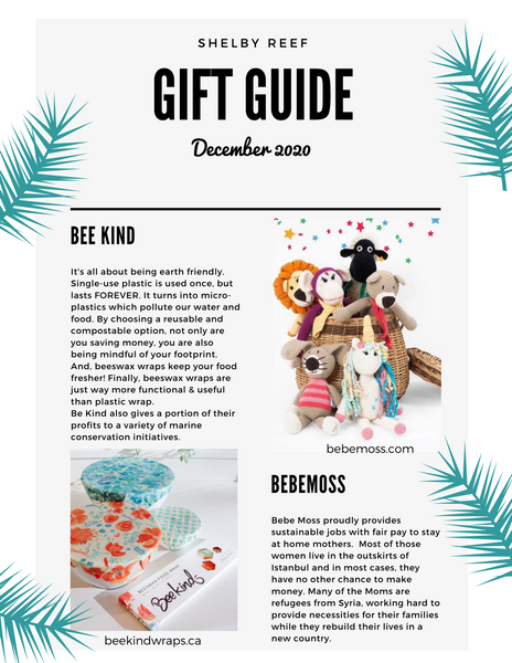 Shelby Reef's Holiday Gift Guide