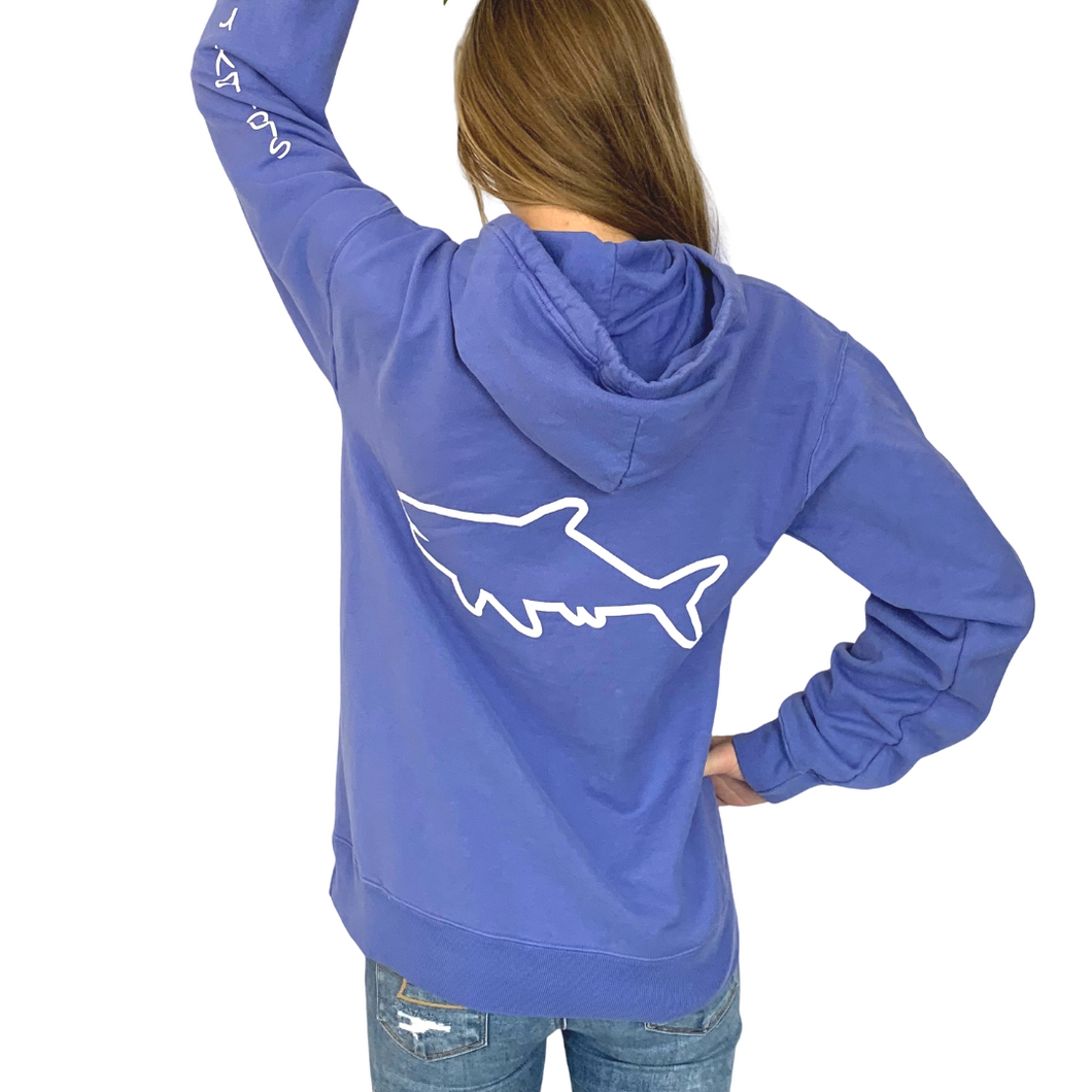 Adult Hooded Sweatshirt - Forte Blue