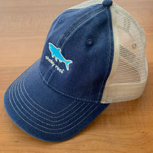 Load image into Gallery viewer, Trucker Hat - Navy