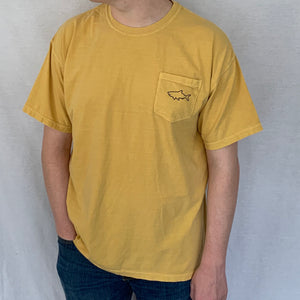 Short Sleeve Pocket T-Shirt - Retro