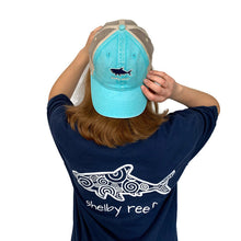 Load image into Gallery viewer, Trucker Hat - Lagoon Blue