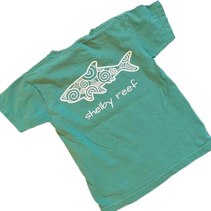 Youth Short Sleeve T-Shirt - Waves Seafoam