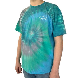 Adult Tie Dye Short Sleeve T-Shirt - Pastel