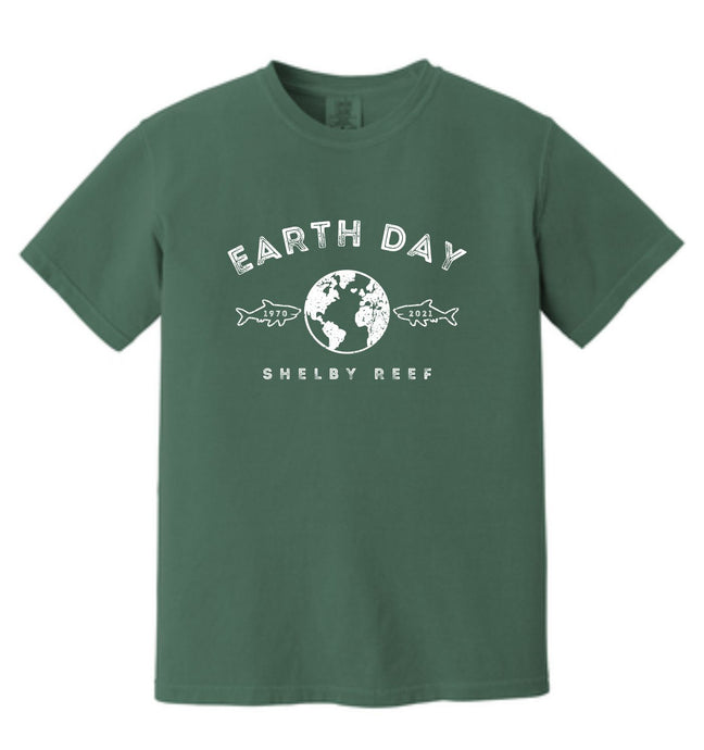 Adult Short Sleeve T-Shirt - Earth Day 2021