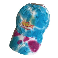Load image into Gallery viewer, Tie Dye Cap - Raspberry