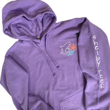 Load image into Gallery viewer, Adult Surfer Hoodie - Violet