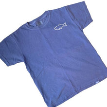 Load image into Gallery viewer, Youth Short Sleeve T-Shirt - Waves Flo Blue