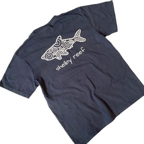 Youth Short Sleeve T-Shirt - Waves Navy