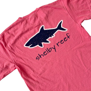 Adult Short Sleeve T-Shirt - Vintage Logo Pink