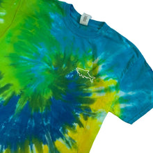 Load image into Gallery viewer, Adult Tie Dye Short Sleeve T-Shirt - Ocean