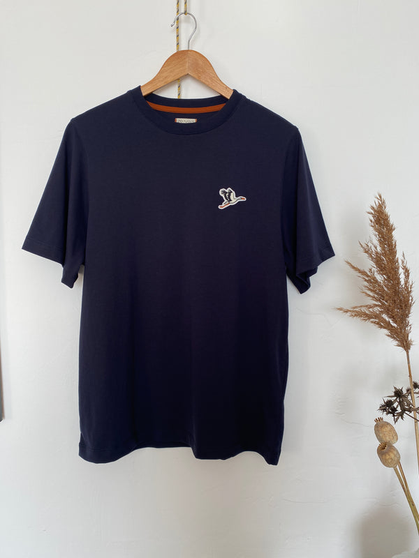 T-shirt Toni Patch - Bleu Marine