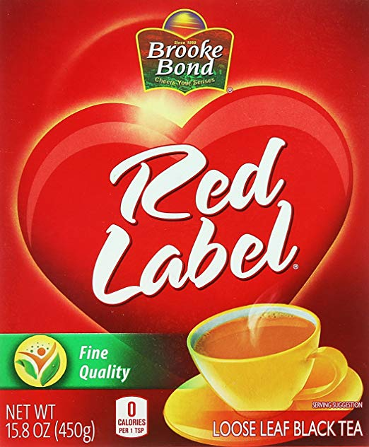 Brooke Bond Red Label - Loose leaf Black Tea