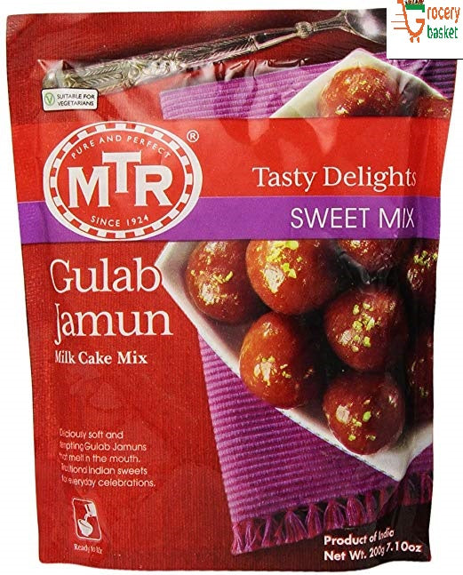 MTR Gulab Jamun Mix 500g ഗുലാബ്.. - grocerybasket.ca