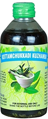 Kottamchukkadi Oil 200 ml (Massage Oil) - grocerybasket.ca