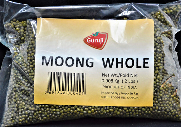 Moong Whole 2 lb (908g) ചെറുപയർ - grocerybasket.ca
