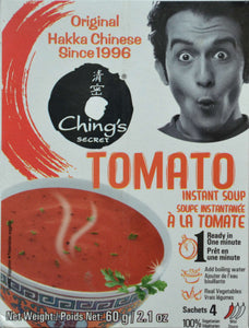 Ching's secret Tomato Instant Soup 60g - grocerybasket.ca